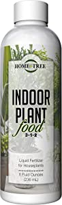 Indoor Plant Food by Home + Tree - The Best Houseplant Fertilizer for Keeping Your Plants Green and Healthy - Every Bottle Sold Plants A Tree (8 oz.)