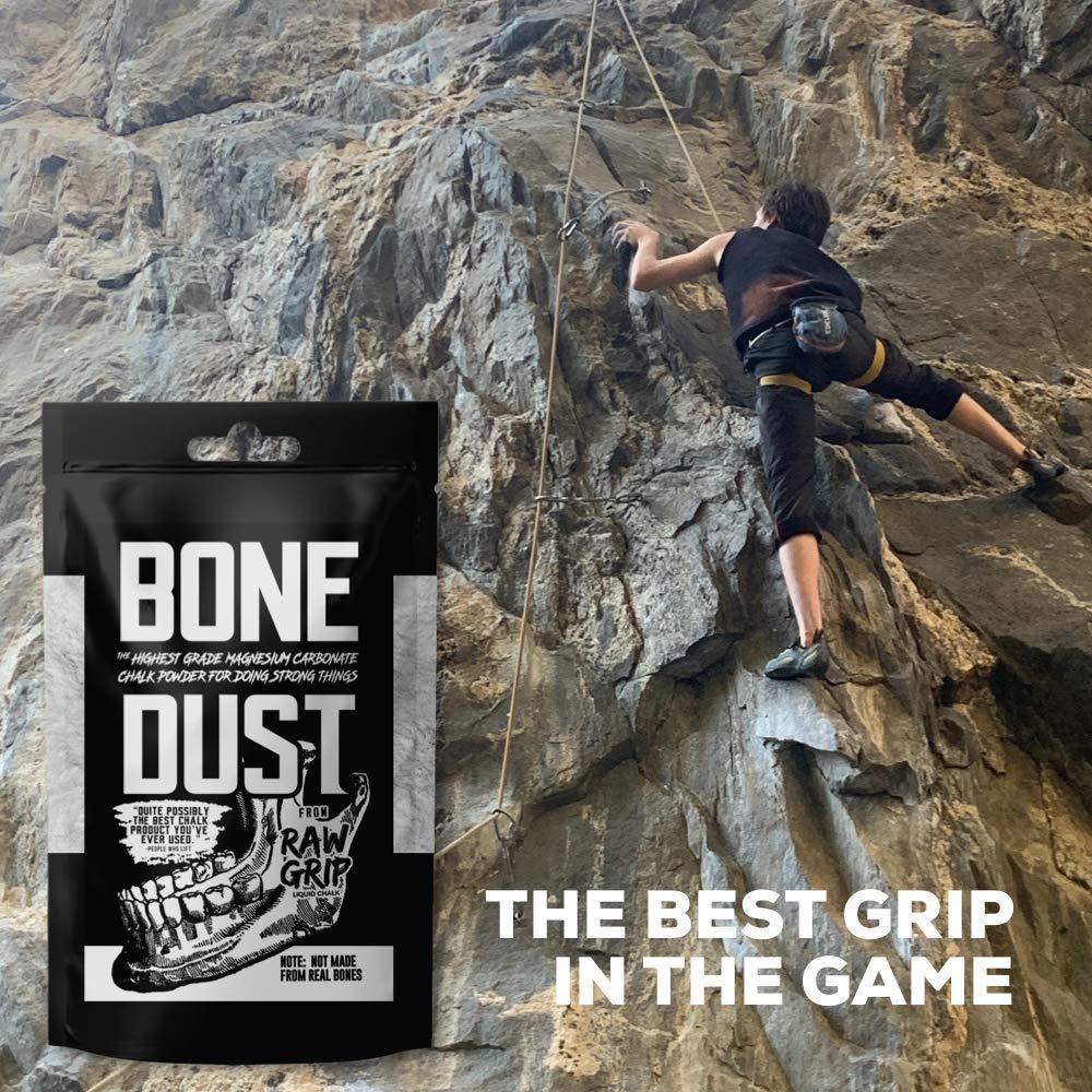 Hand Batch American Made Chalk Powder Grip Enhancer Power Lifting Bowling 5oz Weightlifting Raw Grip Bone Dust The Best Grip in The Game Cross Fit Gymnastics Climbing