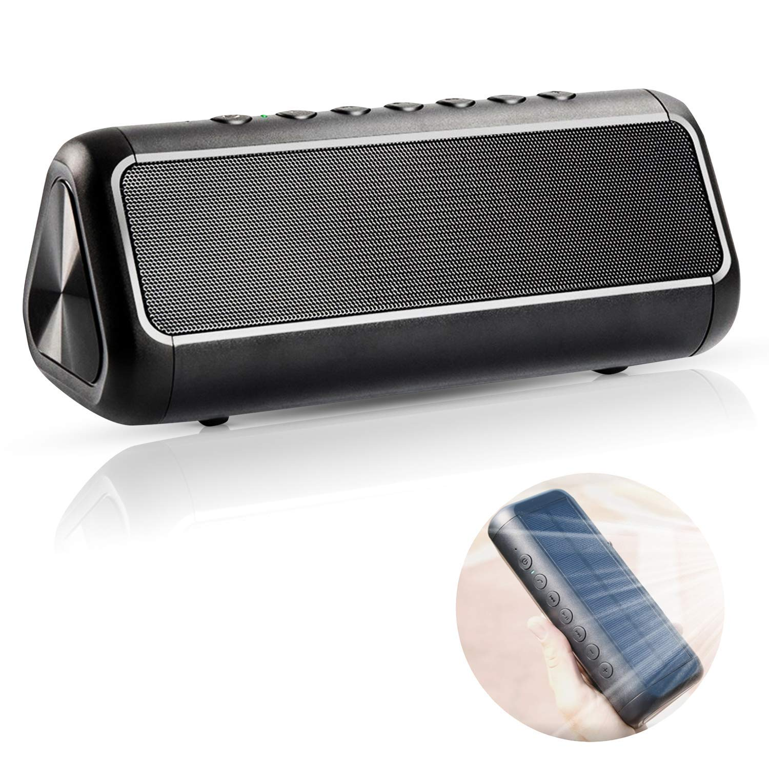 Original Solar Soundbar Portable Speaker