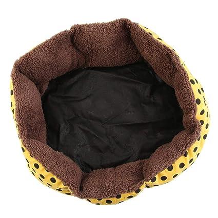 Dooret Calientes Lindos del Animal doméstico del Perro de Perrito del Gato Franela Suave Cama Caliente