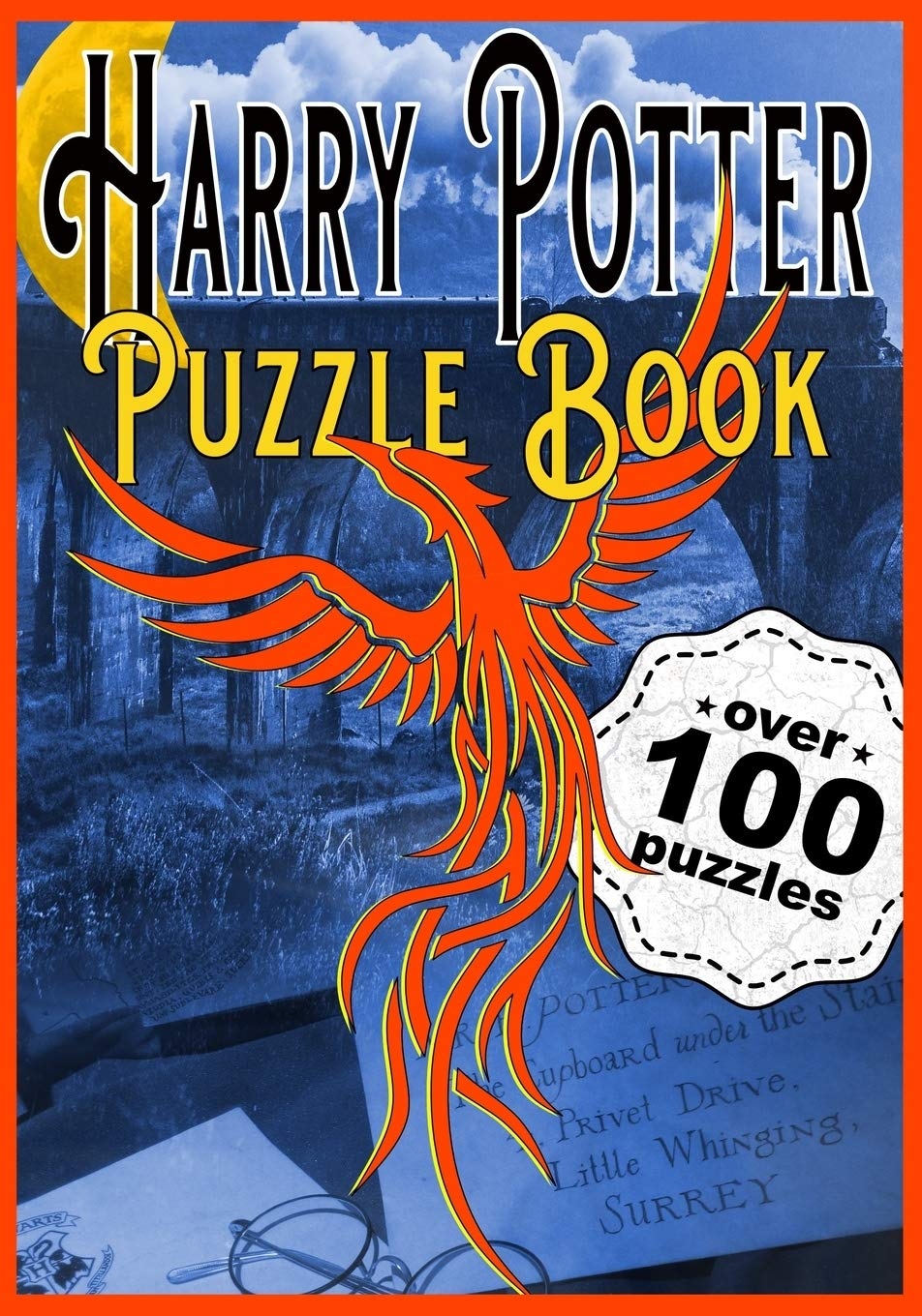 HARRY POTTER PUZZLE BOOK: The Perfect Hogwarts and Wizarding Trivia Quiz Book