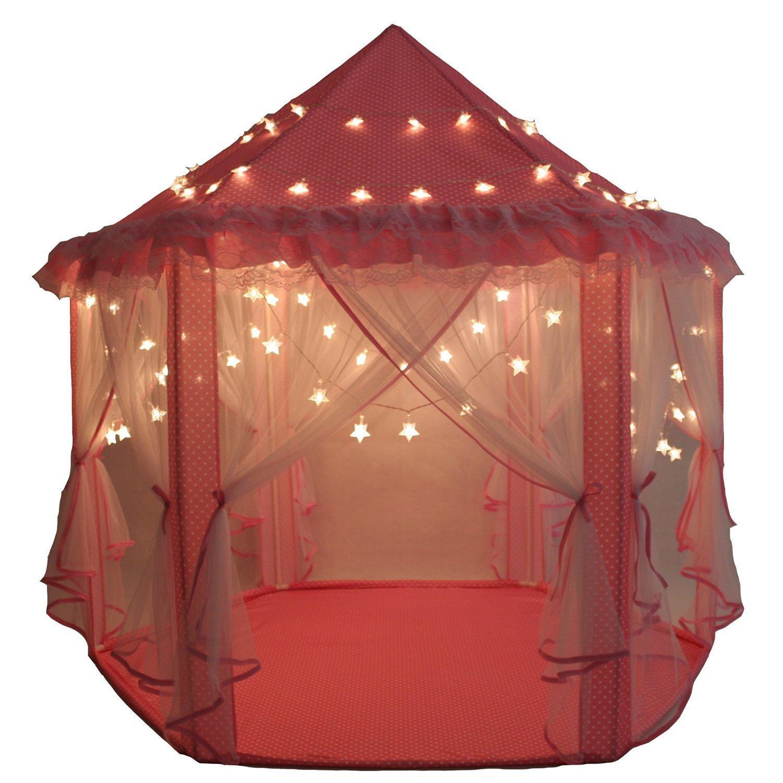 Juego de Castillo princesa interior tiendas a los niños Shayson al aire
