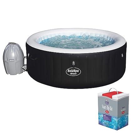 Kit Jacuzzi.Amazon Com Bestway Saluspa Inflatable Hot Tub Spa Jacuzzi