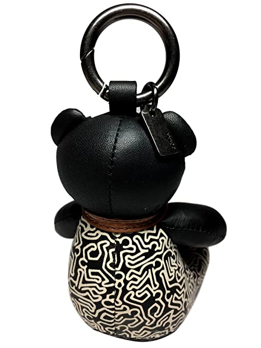 Amazon.com: Coach X Keith Haring edición limitada oso ...