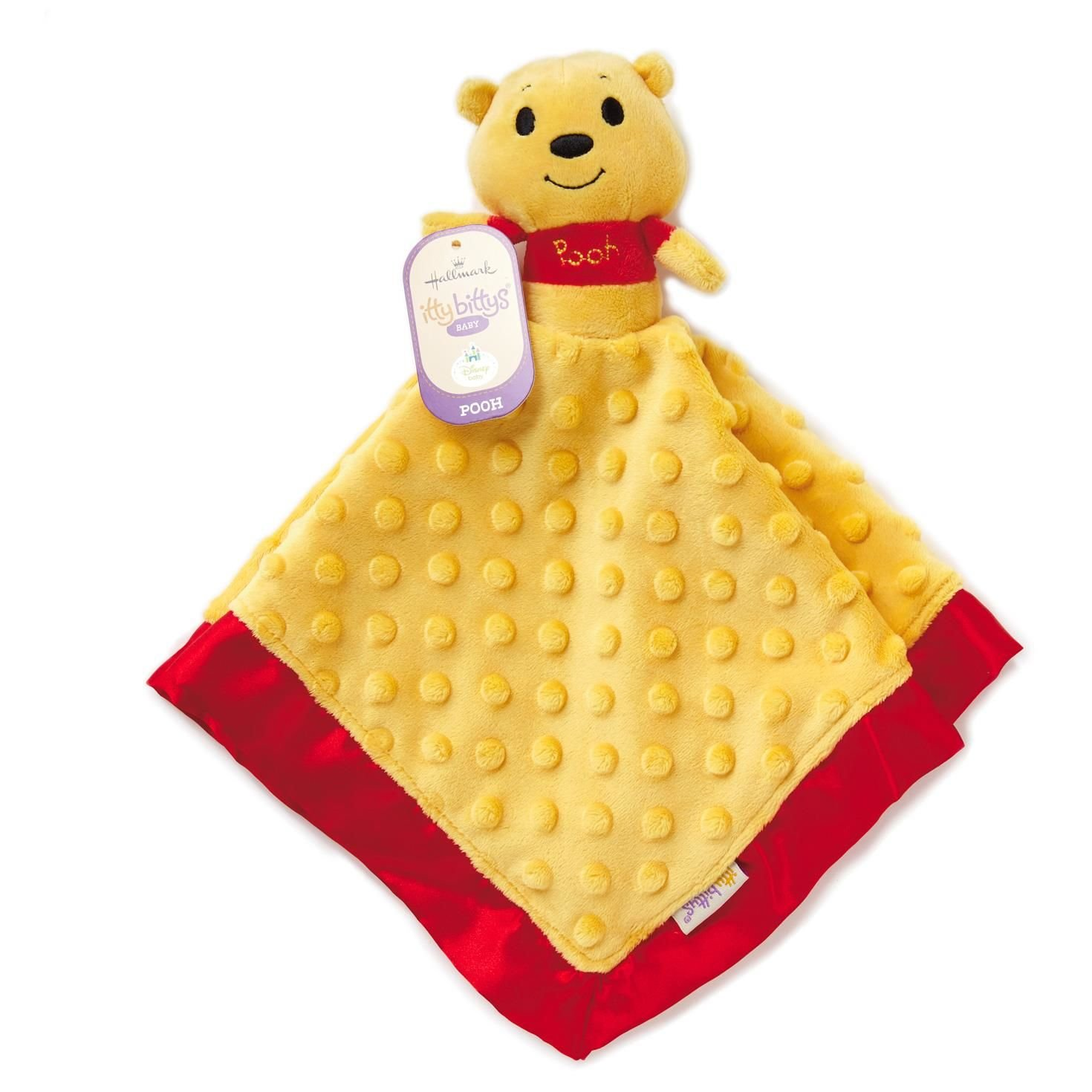 Hallmark Winnie the Pooh Itty Bitty Baby Lovey Blanket by Hallmark
