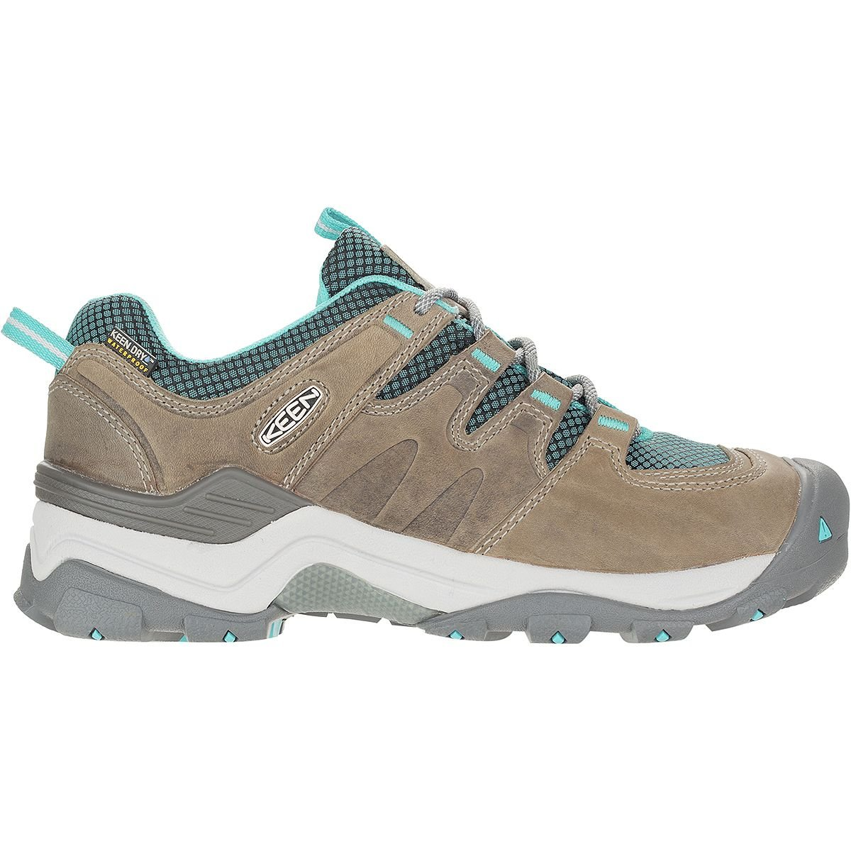 (キーン)KEEN Gypsum II Waterproof Hiking Shoe - Women'sメンズ バックパック リュック Neutral Gray/Radiance [並行輸入品] B079PQ1W3D  7
