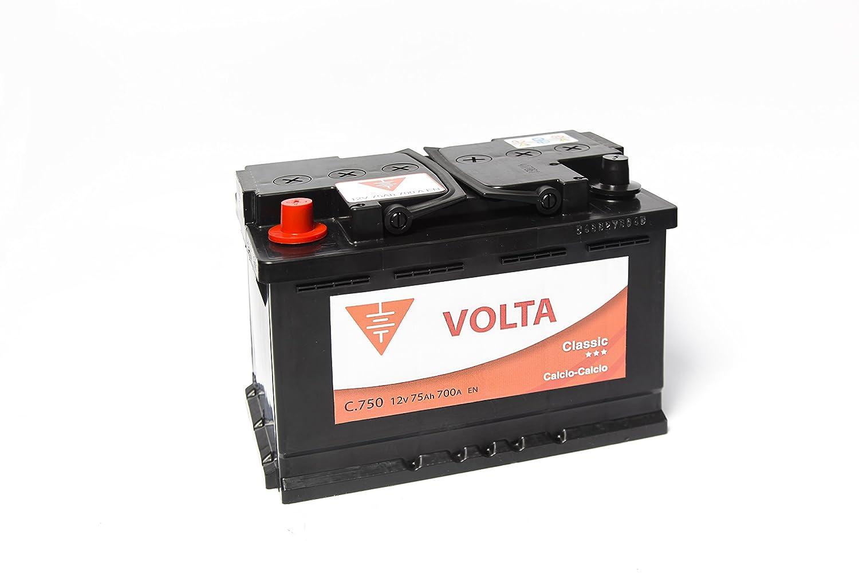 Bateria de coche 75 Ah + Izq Industria del coche