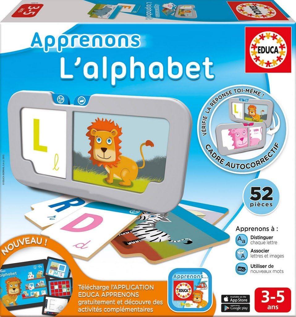 Educa – 16673 – Alfabeto: Amazon.es: Juguetes y juegos