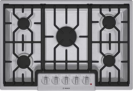 800 series ngm8054uc 30u0026quot gas cooktop with 5 sealed burners continuous grates and automatic re - 30 Gas Cooktop