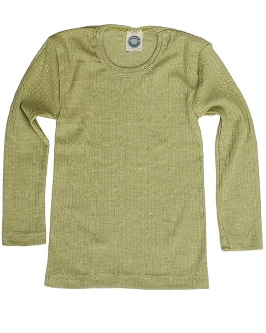 Cosilana - Camiseta interior - para niño Grün Meliert 24 meses