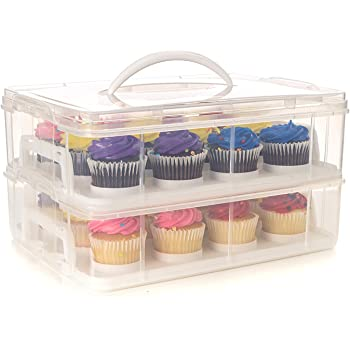 Cupcake Carrier Target Beauteous Amazon Wilton Ultimate 60In60 Cupcake Caddy And Carrier