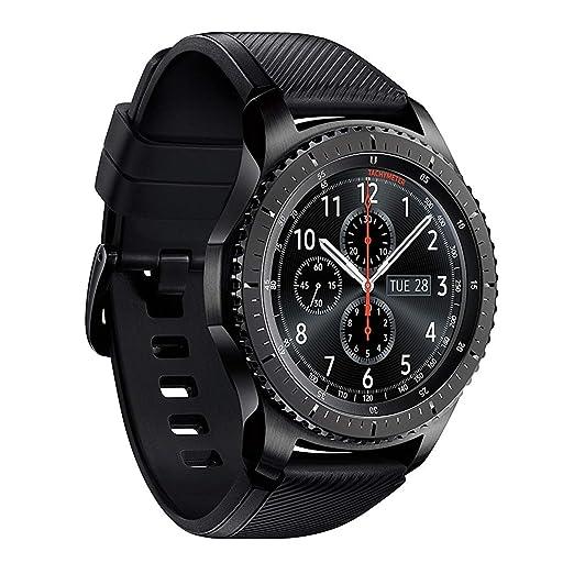 Amazon.com: Reloj inteligente SAMSUNG GEAR S3 FRONTIER de 46 ...
