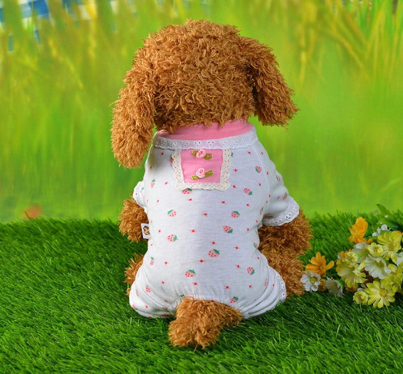 Unisex Floral Pet Clothes Puppy Dog Cat Vest Tracksuit Coat Dress Sweater Apparel Dogs Clothes Dog Dresses Dog Jumpsuit Barlingrock Dog Sweater for Small Dog Pet Clothes