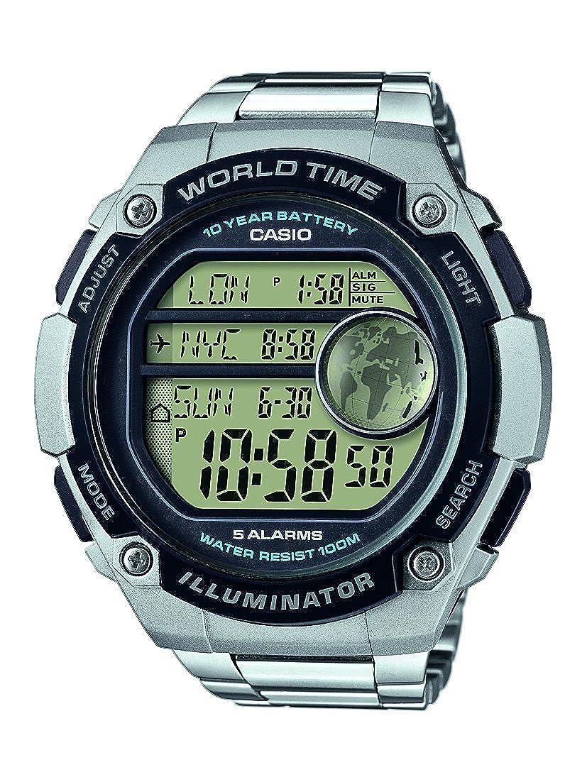 Casio Reloj Digital para Hombre de Cuarzo con Correa en Resina AE-3000WD-1AVEF