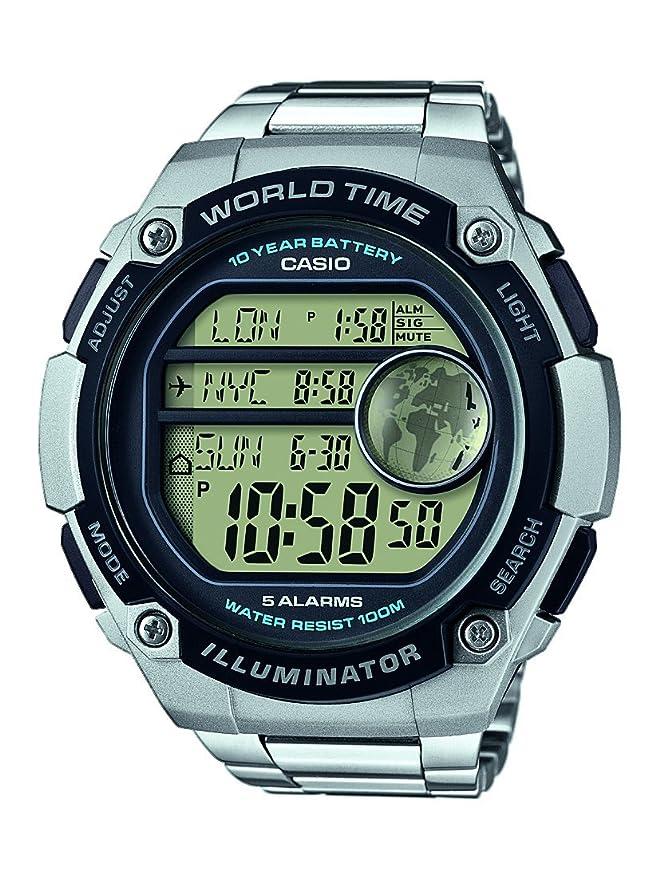 Casio Reloj Digital para Hombre de Cuarzo con Correa en ...