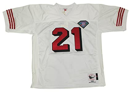 outlet store adbfc ca0da Amazon.com : Mitchell & Ness Deion Sanders San Francisco ...
