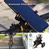 Amazon Price History for:SpoLite Bike Accessories, Adjustable Bike Phone Mount - Holder for Motorcycle - Bicycle Handlebar,Motorcycle Phone Mount Fits Smartphone Cell iPhone X,8|8 Plus,Galaxy And Others for Cycling GPS Units
