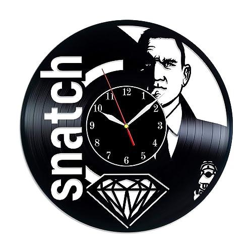 Amazon Com Snatch Vinyl Record Clock Guy Richy Films Birthday
