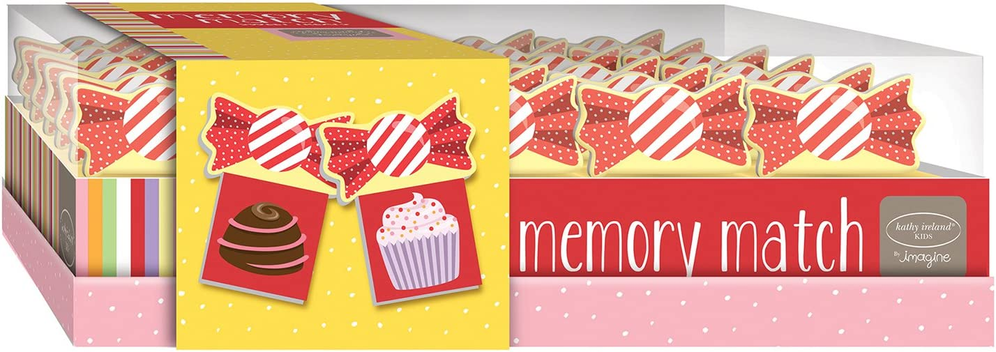 Bendon Kathy Ireland Memory Match Game: Sweet Treats