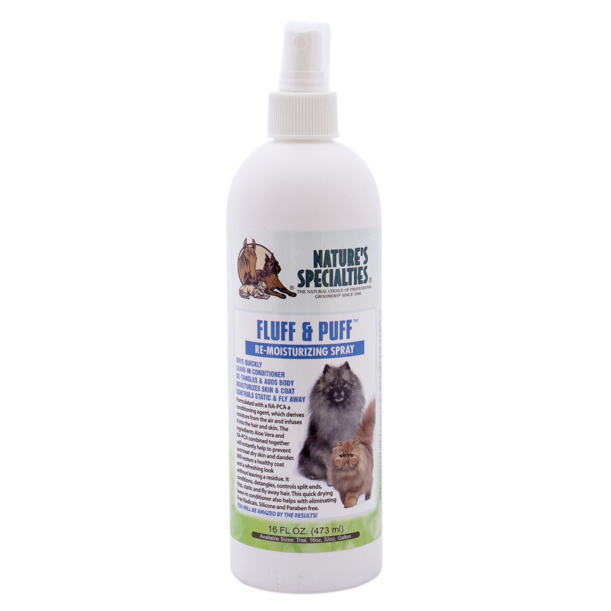 Nature's Specialties Conditioner for Dogs and Cats, 16-Ounce