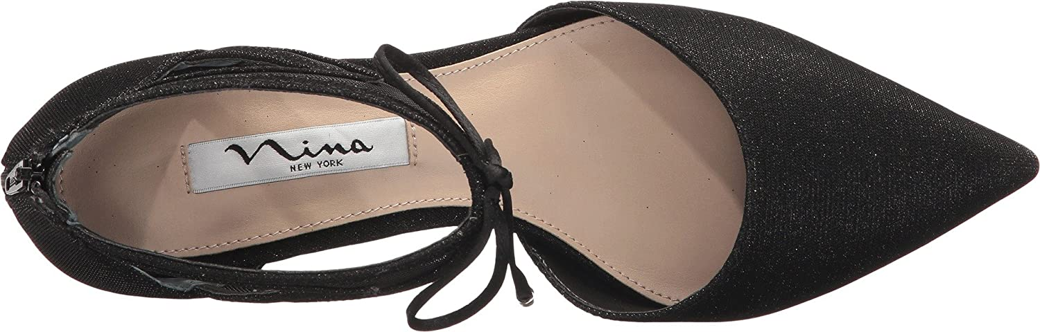 Nina Womens Talley B0714BV44C 6 B(M) US|Black/Black