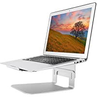 Nnewvante Laptop Stand Adjustable Aluminum Cooling Holder for Apple MacBook Pro, Air and All Notebooks Up to 17""