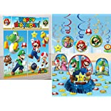 Super Mario Bros. Party Decoration Bundle - Includes 1 Maze Game Activity Card by ClassicVariety
