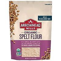 Arrowhead Mills Organic Spelt Flour, 22 Ounce Bag (Pack of 6)