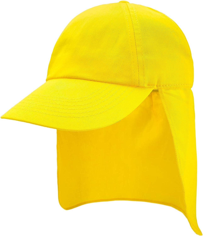 4sold Junior Legionnaire Style Baseball Cap Boy Girl Children Summer Sun Hat UV Protection Child Kids Sport
