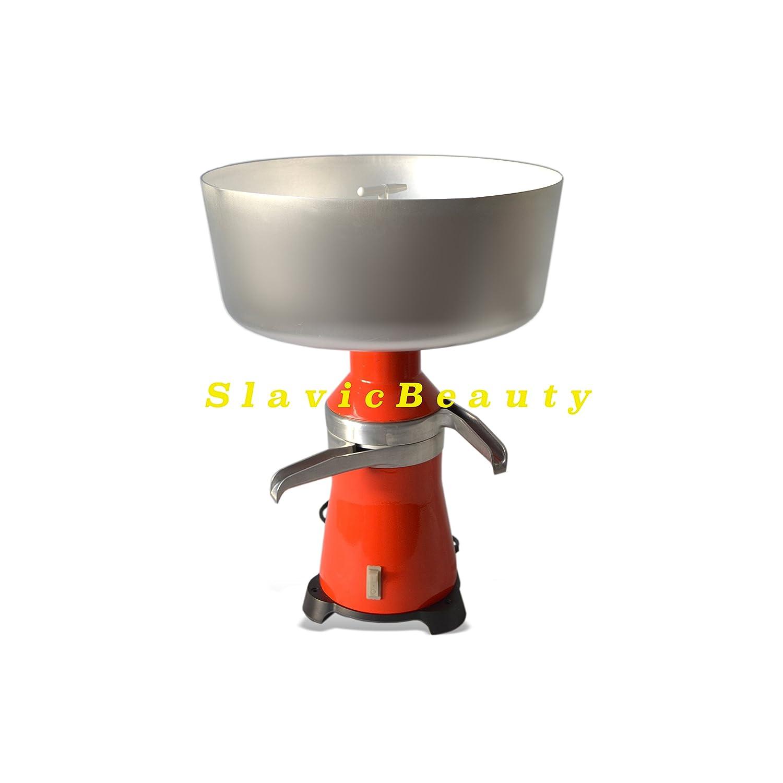 80 Liter//Stunde Elektrisch Milchzentrifuge Milch Zentrifuge Separator 220V Metal