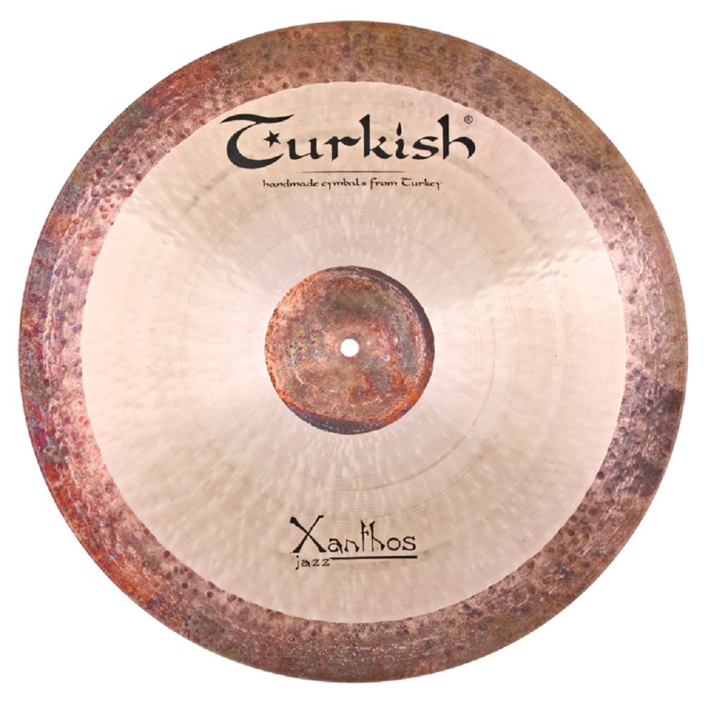 Turkish Cymbals Jazz Series 22-inch Xanthos Jazz Ride * XJ-R22   B073YC1WC9