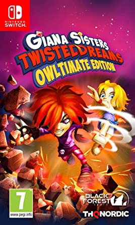 Giana Sisters Twisted Dreams Owltimate Edition SWITCH XCI - ISOSLAND