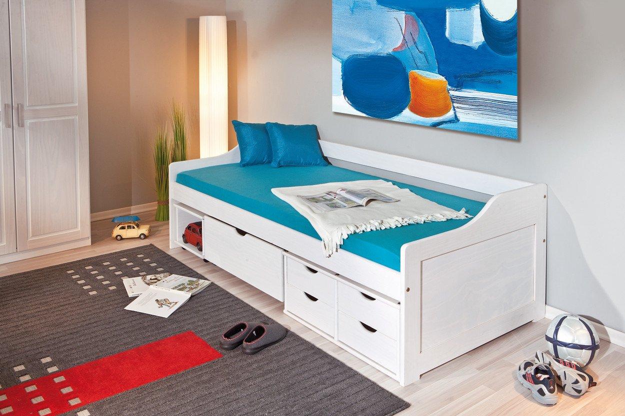 Einzelbett weiß mit schubladen  Bett Wei Schubladen. Interesting Brekke With Bett Wei Schubladen ...