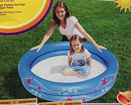 Clearwater Transparent Inflatable Swim Ring 32 inches Float Tube Ring 1 Tube