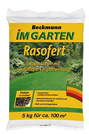 Beliebt Bevorzugt Beckmann im Garten Rasofert® Rasendünger, organisch-mineralisch #VG_83