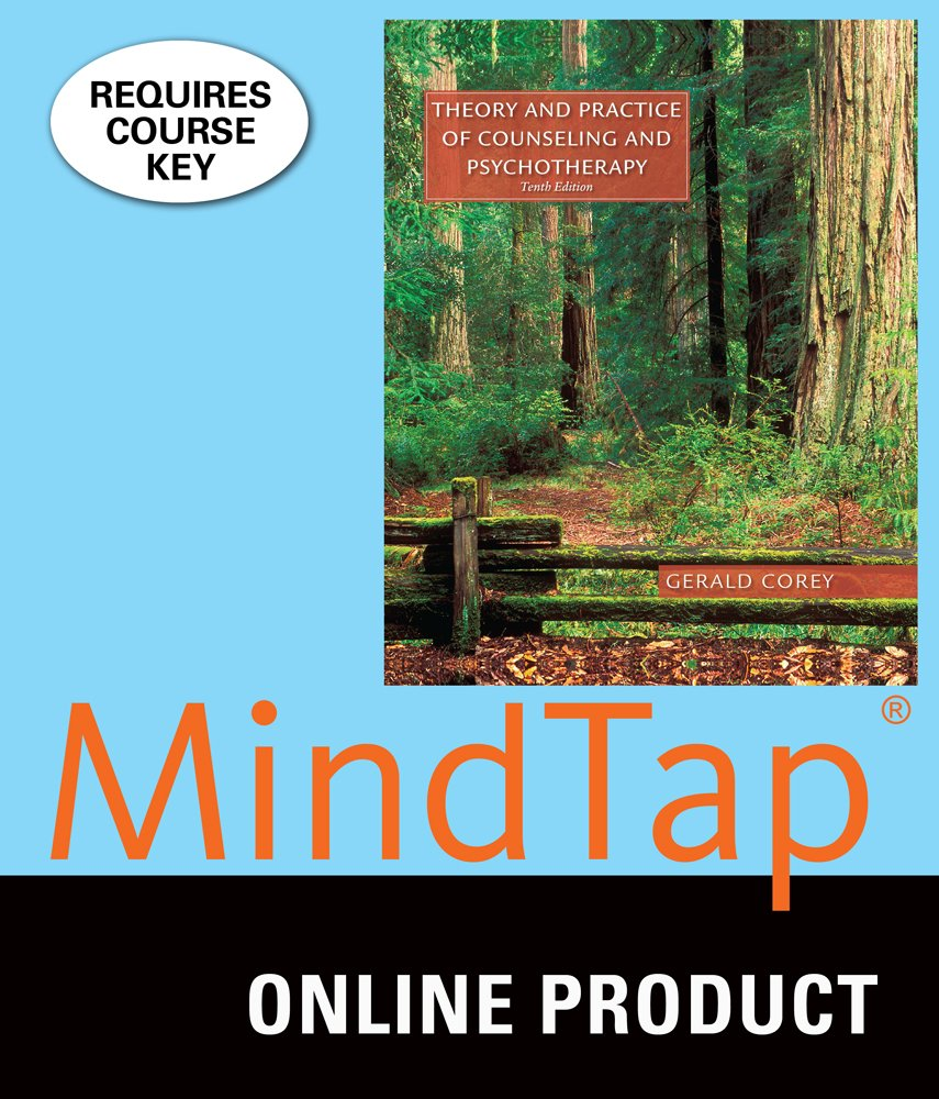 Amazon.com: MindTap Counseling for Corey's Theory and Practice of Counseling  and Psychotherapy and Student Manual, 10th Edition: Software