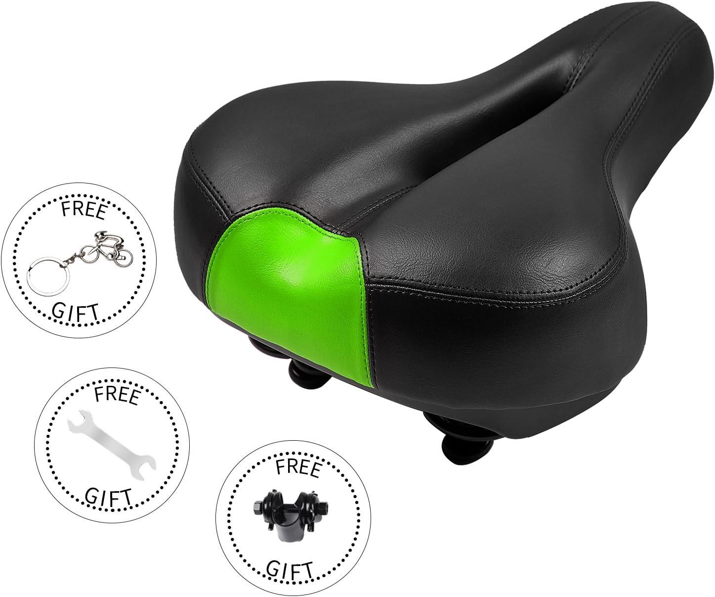 West Biking Cojín de gel para sillín de bicicleta, para montar en ...