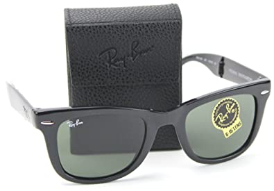a5dea551e947 Image Unavailable. Image not available for. Color: Ray-Ban RB4105 601  Wayfarer Folding ...