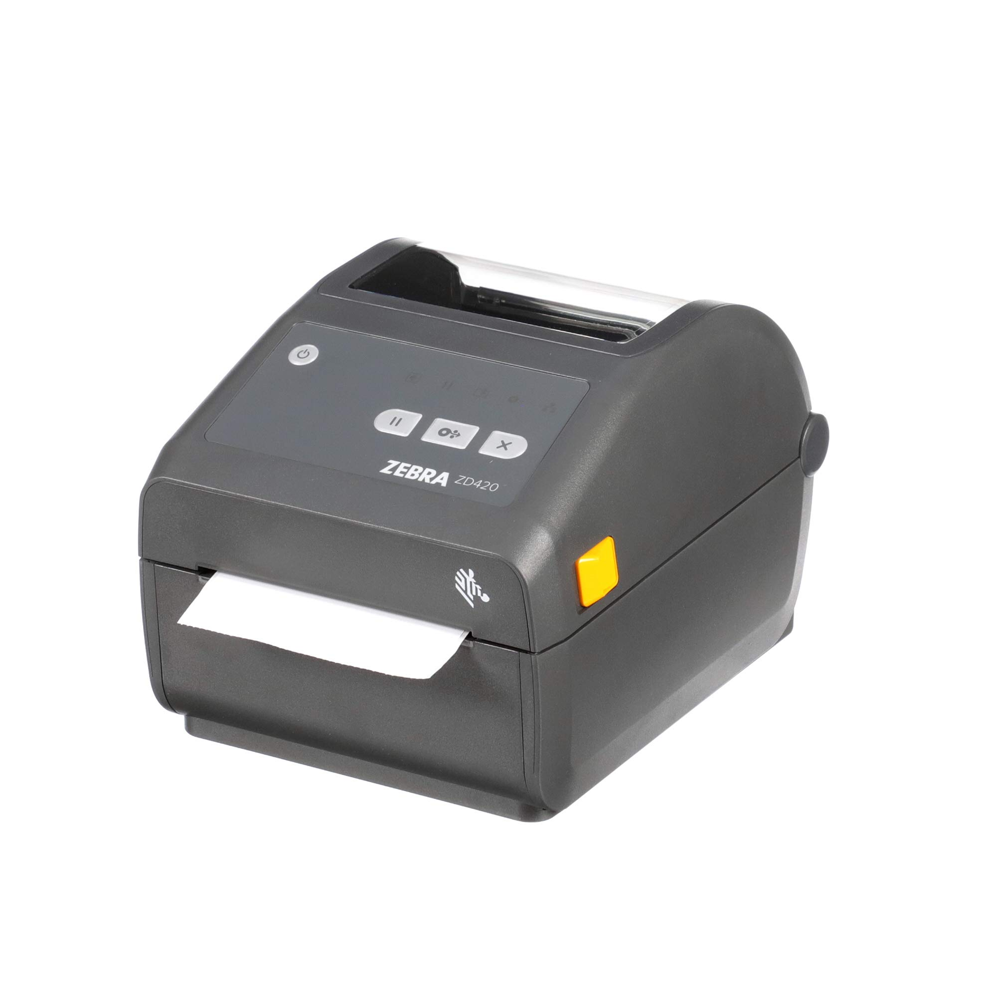 Zebra - ZD420d Direct Thermal Desktop Printer for Labels and Barcodes - Print Width 4 in - 203 dpi - Interface: USB - ZD42042-D01000EZ by ZEBRA