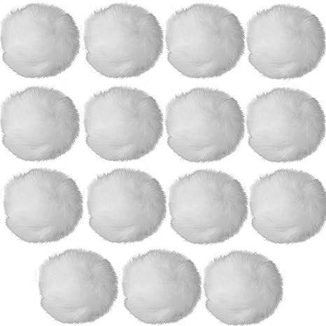 Amazon.com: Rusoji - 15 piezas de pelotas de piel sintética ...