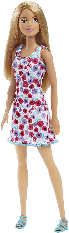 Barbie Doll - White Background Dress