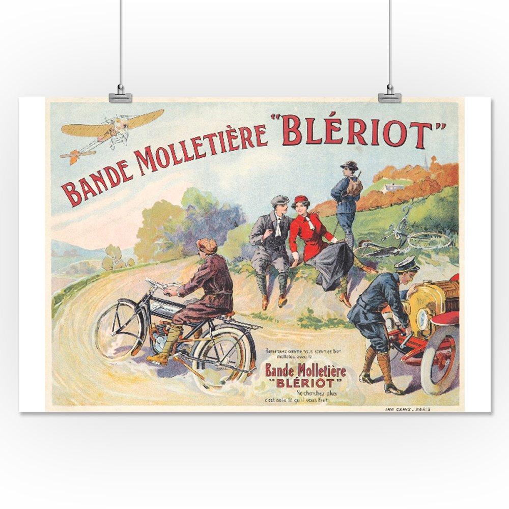 Amazon.com: Bande Molletiere Bleriot Vintage Poster ...