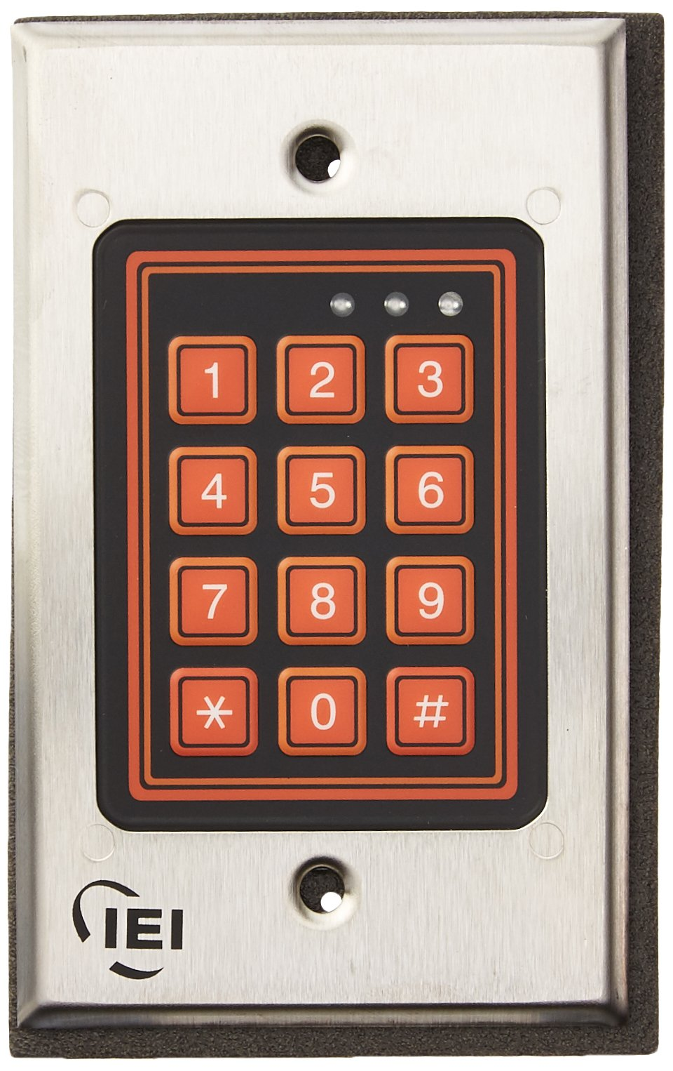 IEI International Electronics 212W Membrane Keypad by IEI
