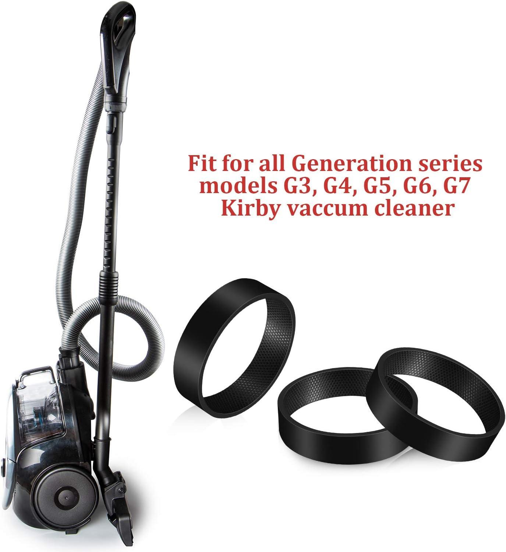 12 Piezas Correas de Aspiradora 301291 Compatible con Correa de Repuesto de Aspiradora Kirby Compatible con Modelos de Serie G3 G4 G5 G6 G7
