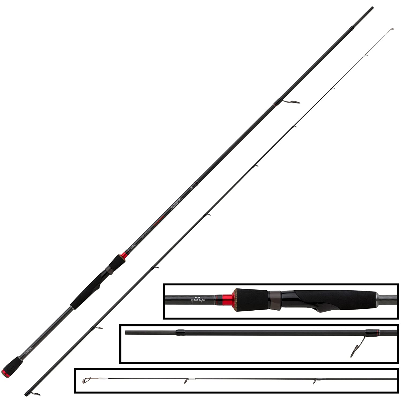 Fox Rage Prism Dropshot 270cm 7-28g Spinnrute zum Dropshotangeln Zanderrute Drop Shot Rute zum Spinnfischen auf Zander /& Hecht
