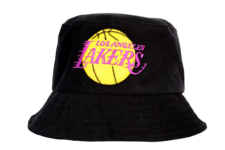 8f97d879b GL BOUTIK Los Angeles Lakers Bucket HAT - NBA - Basketball: Amazon ...