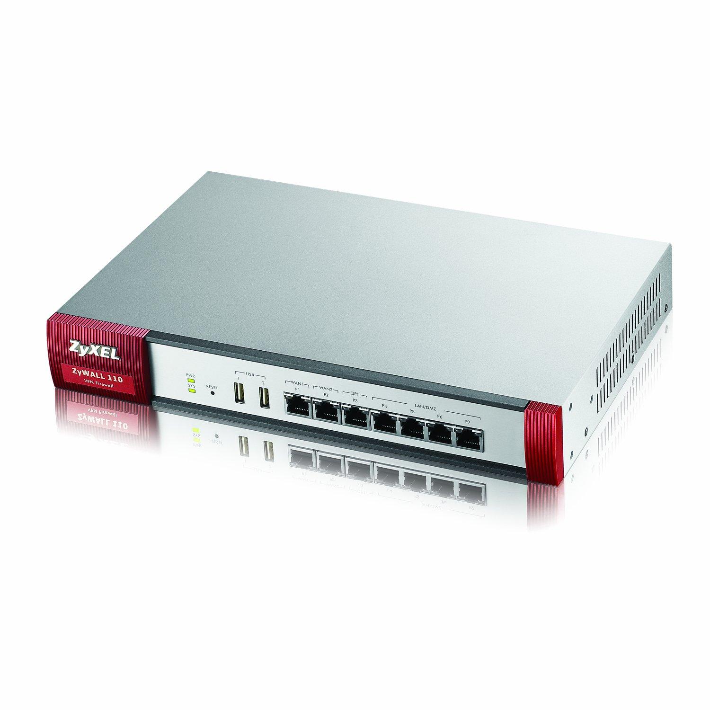 Zyxel Next Generation VPN Firewall with 2 WAN, 1 OPT, 4 LAN/DMZ Ports [ZYWALL110]