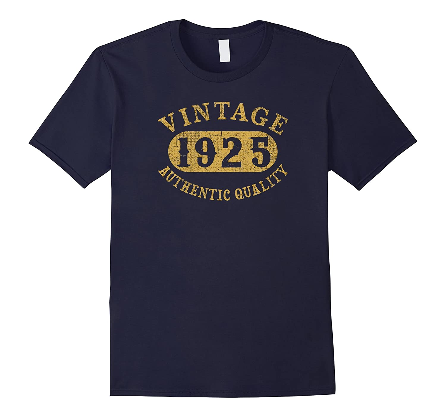 92 years old 92nd B-day Vintage Birthday Gift 1925 T-Shirt-PL