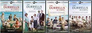 THE DURRELLS 1-4 2016-2019 COMPLETE IN CORFU TV Season Series
