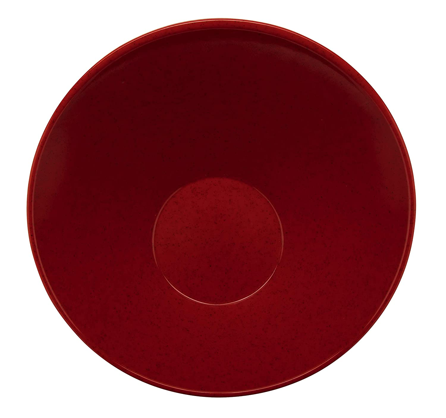 Red GET B-792-RSP Angled Salad Bowl 24 Ounce